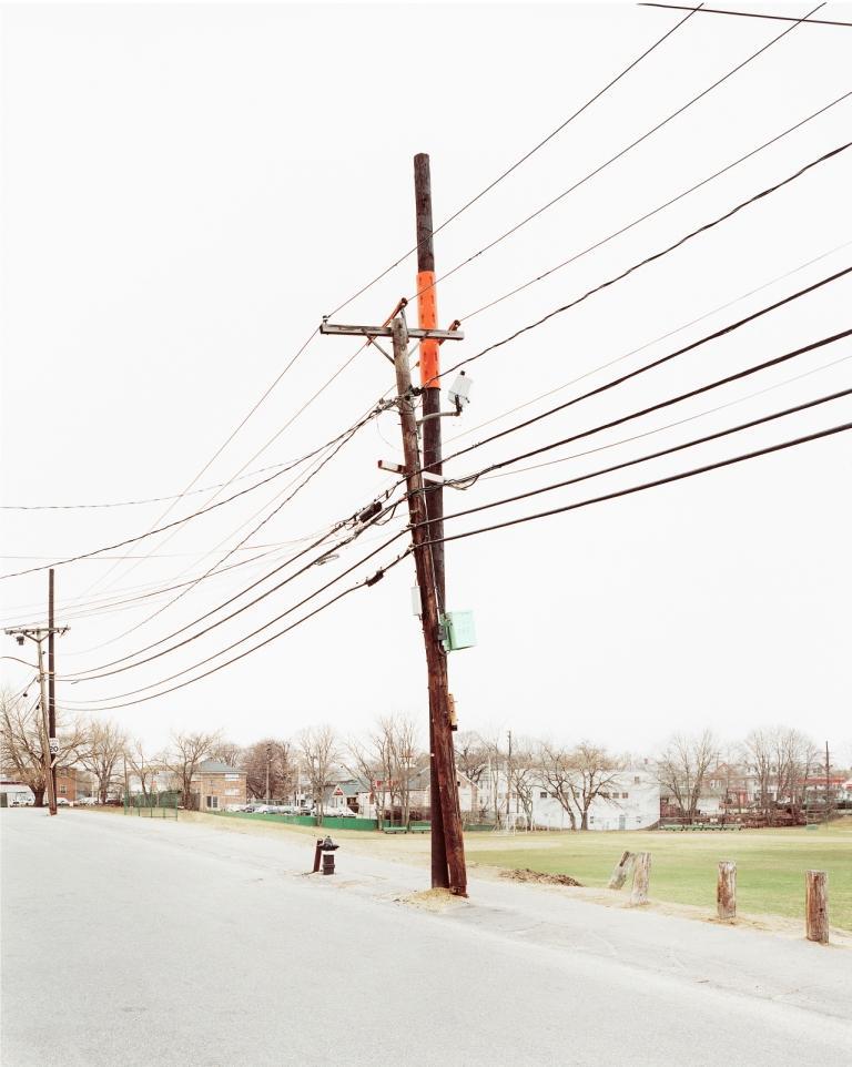 Frank Breuer Color Photograph - Untitled, Index #1333 Arlington, MA