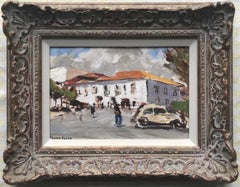 Frank Forty, Irish Impressionist, A town square, France