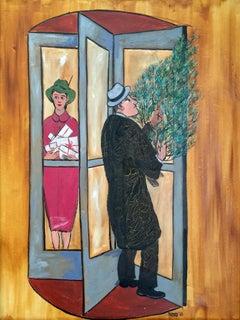 Resolving Door at Christmas