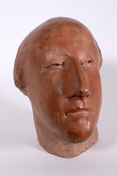 Self Portrait by Frank Gallo ceramic 1961