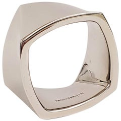 Frank Gehry for Tiffany & Co. White Gold Torque Ring