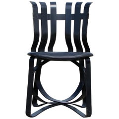 "Frank Gehry Ebonized ""Hat Trick"" Chair for Knoll Studios  USA"