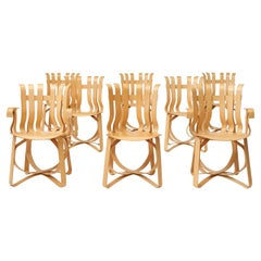 Frank Gehry Hat Trick Dining Chairs