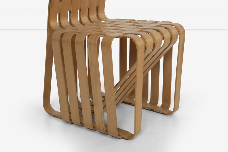 Frank Gehry High-Back High Sticking Chairs for Knoll For Sale 3