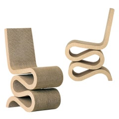 Frank Gehry Wiggle Chair in Cardboard by Vitra