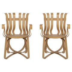 Frank Ghery Hat Trick Arm Chairs for Knoll
