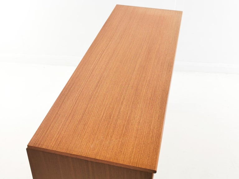 Mid-Century Modern Frank Guille for Austinsuite Teak Midcentury Sideboard Chest of Drawers, 1960s For Sale