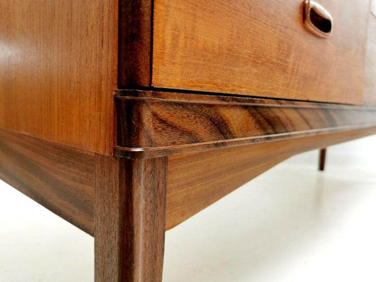 European Frank Guille for Austinsuite Teak Midcentury Sideboard Chest of Drawers, 1960s For Sale