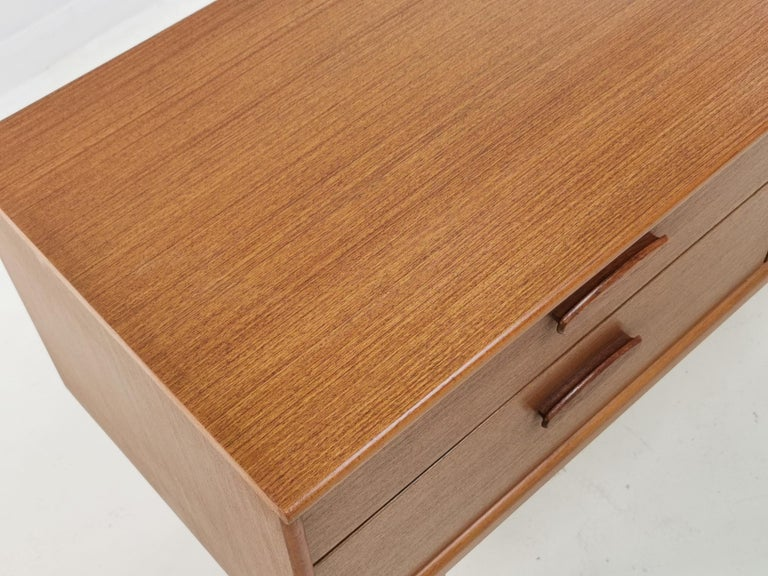 20th Century Frank Guille for Austinsuite Teak Midcentury Sideboard Chest of Drawers, 1960s For Sale