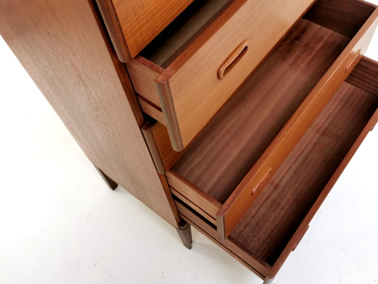 Frank Guille for Austinsuite Teak Midcentury Sideboard Chest of Drawers, 1960s 1