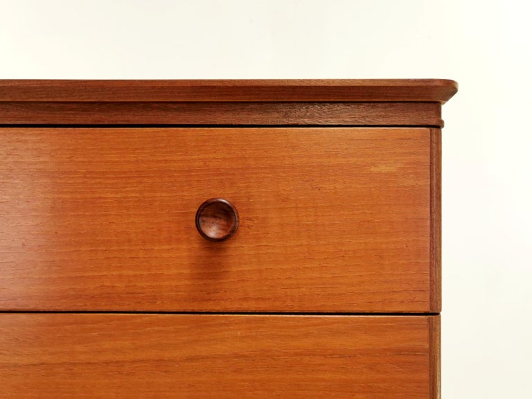 Frank Guille for Austinsuite Teak Midcentury Sideboard Chest of Drawers, 1960s 2