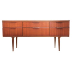 Frank Guille for Austinsuite Teak Midcentury Sideboard Chest of Drawers, 1960s