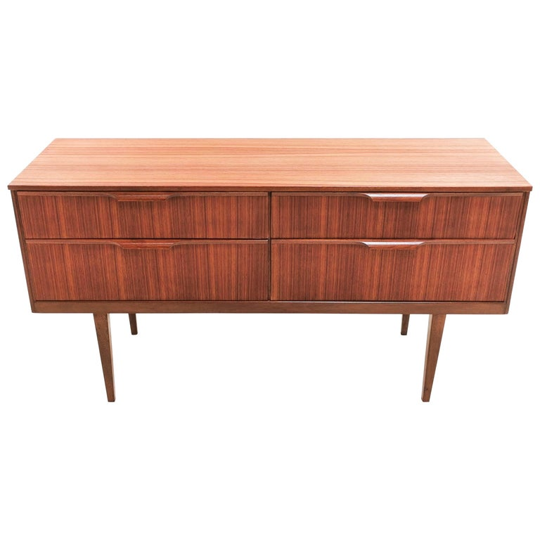 Frank Guille for Austinsuite Teak Midcentury Sideboard Chest of Drawers, 1960s For Sale