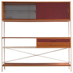 Beech Case Pieces and Storage Cabinets