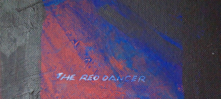 The Red Dancer - Mid-Late 20th Century Figurative Elegant Ballet by Frank Hill For Sale 6