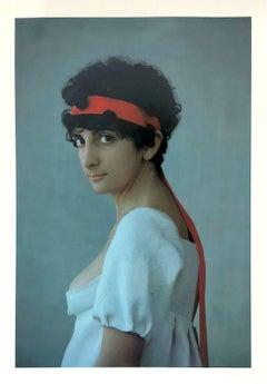 Rebecca, Dye Transfer Print, Framed, 1980