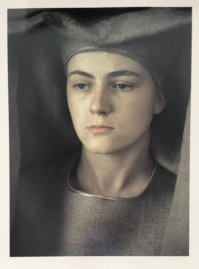 Frank Horvat Portrait Photograph - Veronique P., Dye Transfer Print, 1980