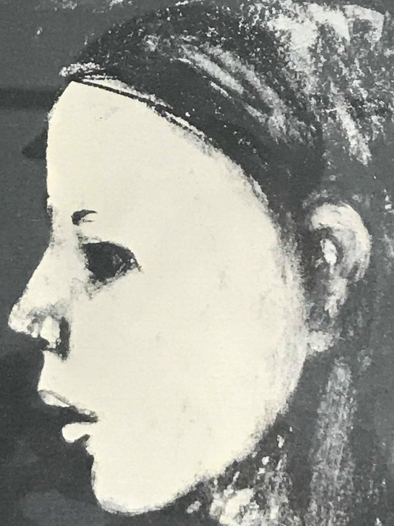 Boy's Head - Print by Frank Kleinholz