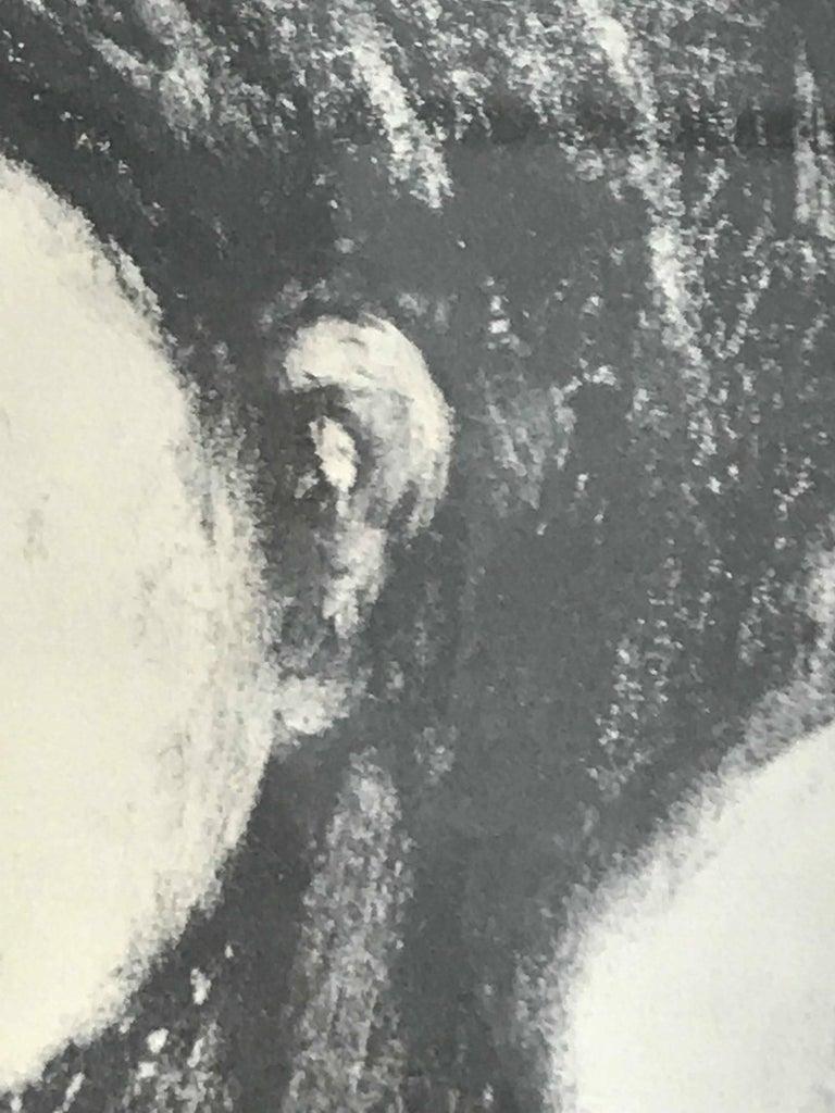 Boy's Head - Modern Print by Frank Kleinholz