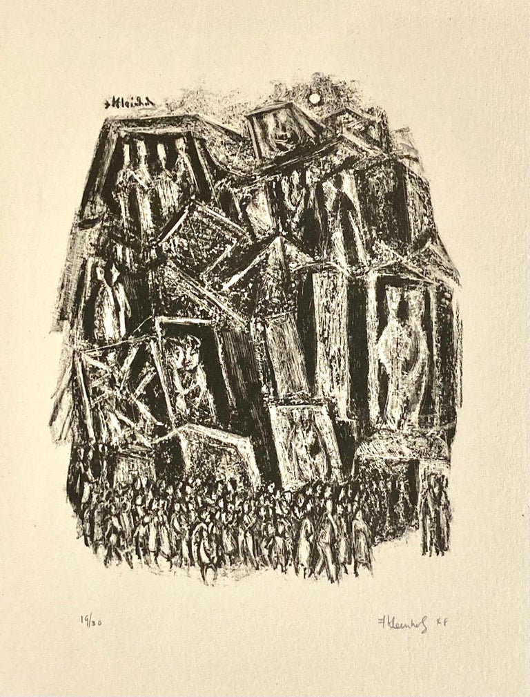 World Premier - Print by Frank Kleinholz