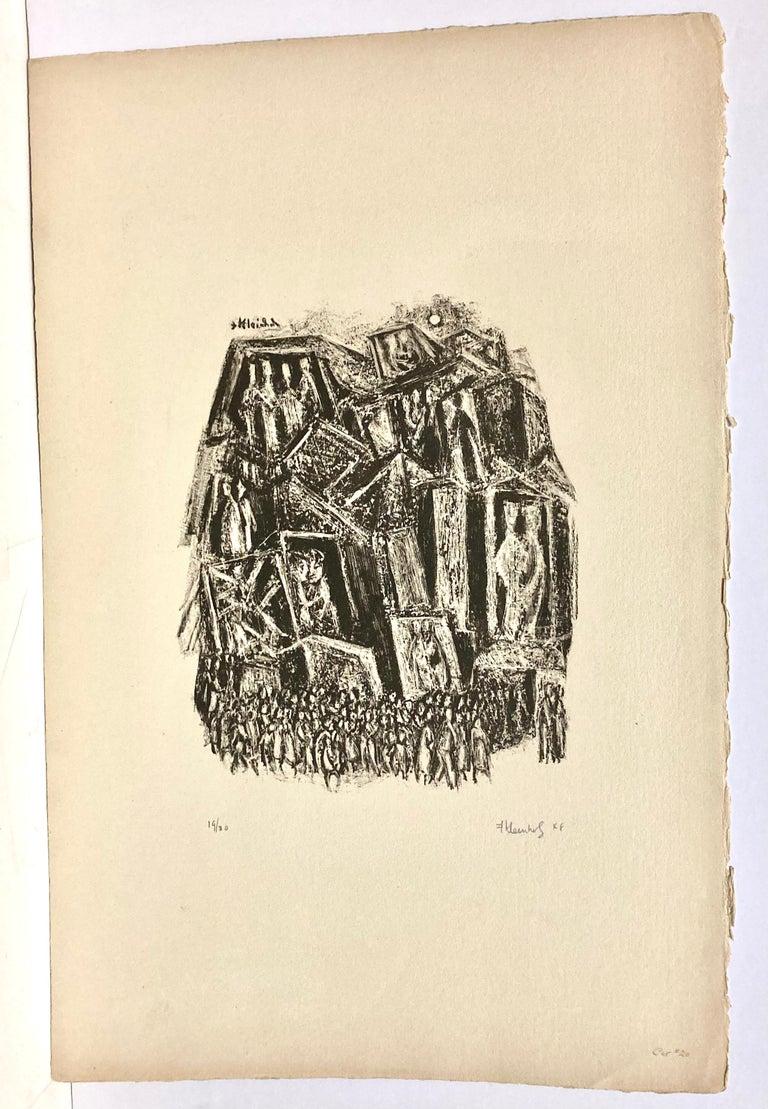 World Premier - American Modern Print by Frank Kleinholz