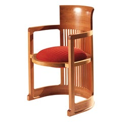 Frank Lloyd Wrigh Barrel Chair by Cassina