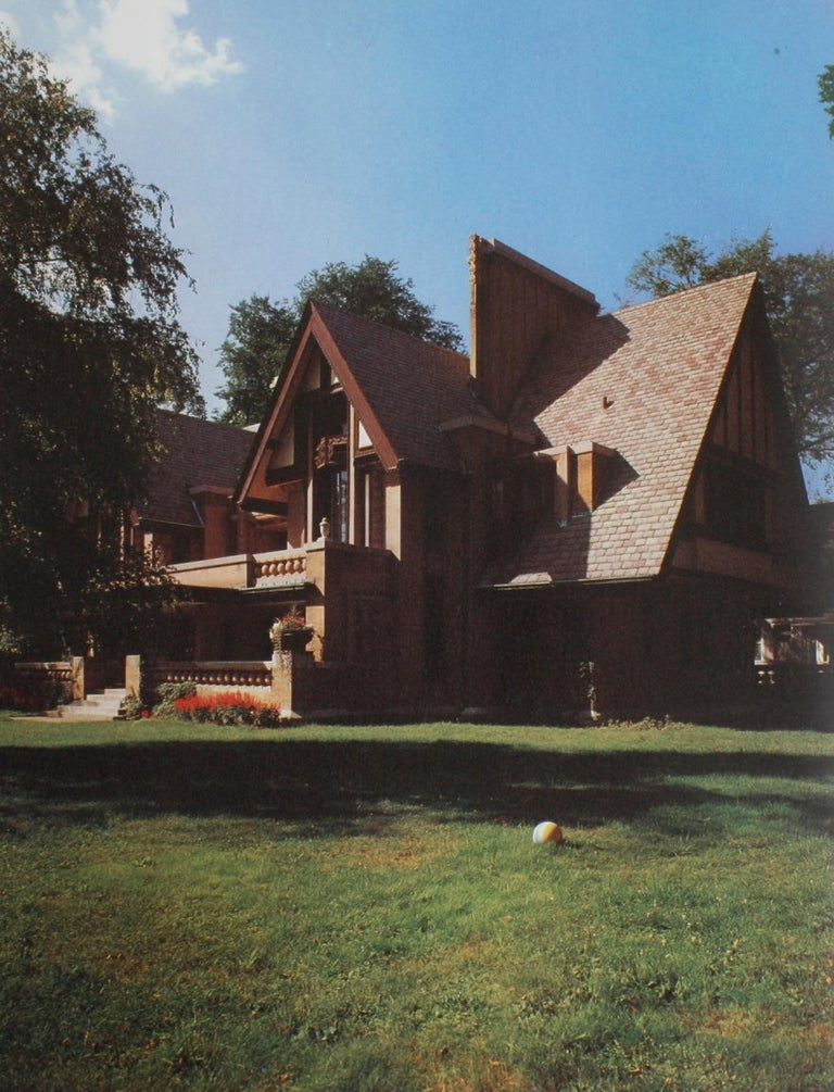 Late 20th Century Frank Lloyd Wright by Marco Dezzi Bardeschi For Sale