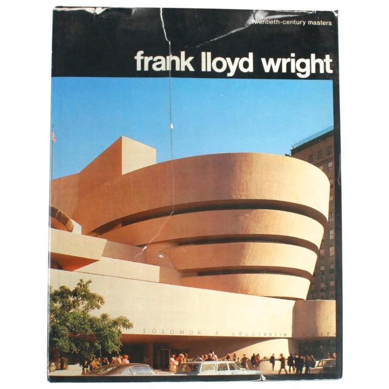 Frank Lloyd Wright by Marco Dezzi Bardeschi For Sale