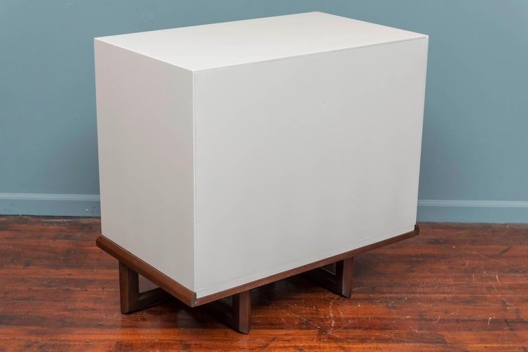 Frank Lloyd Wright Chest on Stand For Sale 3