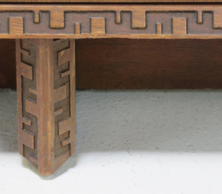 Frank Lloyd Wright Credenza In Fair Condition For Sale In San Francisco, CA