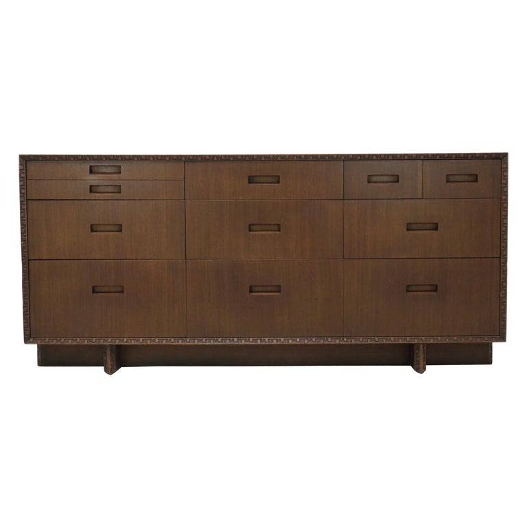 Frank Lloyd Wright Credenza For Sale