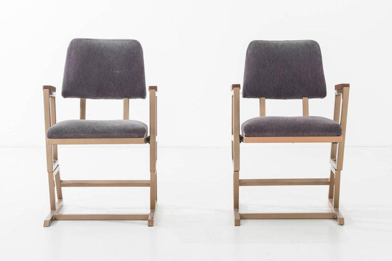 Frank Lloyd Wright, pair of chairs from the Kalita Humphreys Theater, Dallas Texas. Literature: Frank Lloyd Wright Monograph 1951-1959, Pfeiffer and Futugawa, ppg. 206-208.