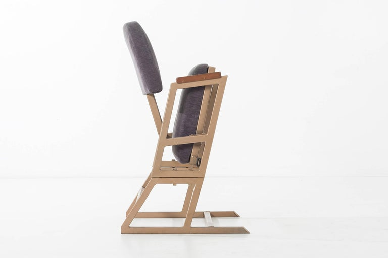Frank Lloyd Wright Custom Chairs In Good Condition For Sale In Chicago, IL
