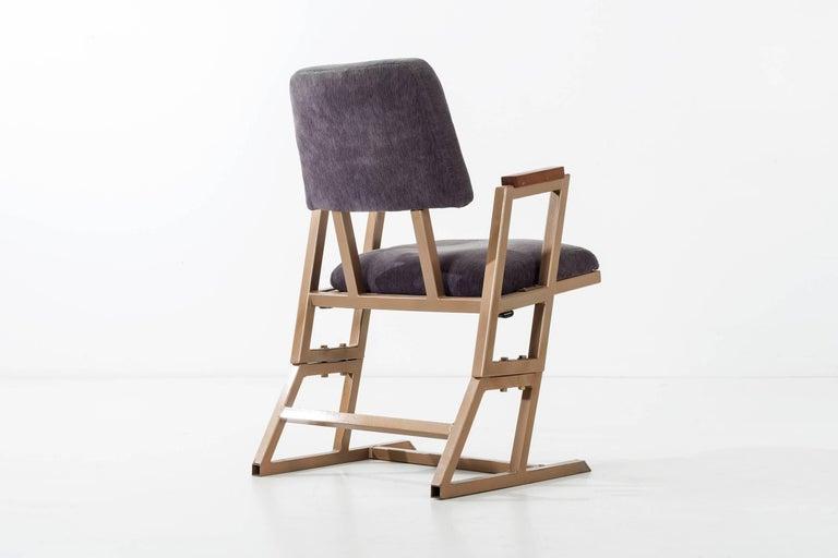Mid-20th Century Frank Lloyd Wright Custom Chairs For Sale