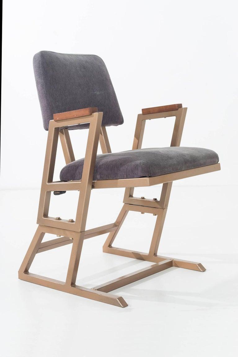 Metal Frank Lloyd Wright Custom Chairs For Sale