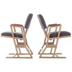 Frank Lloyd Wright Custom Chairs