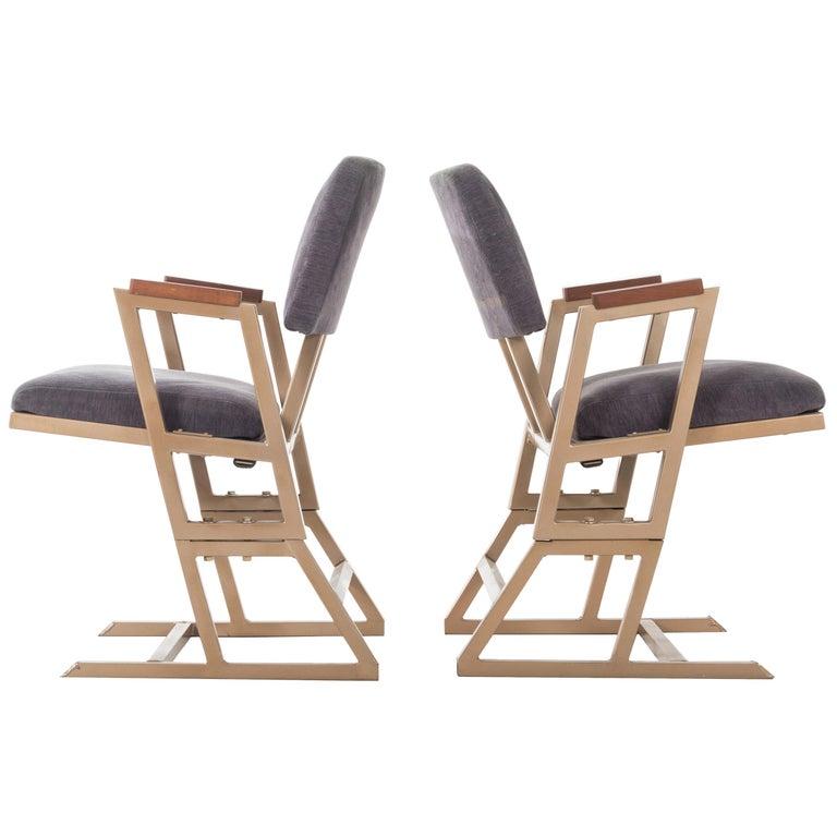 Frank Lloyd Wright Custom Chairs For Sale