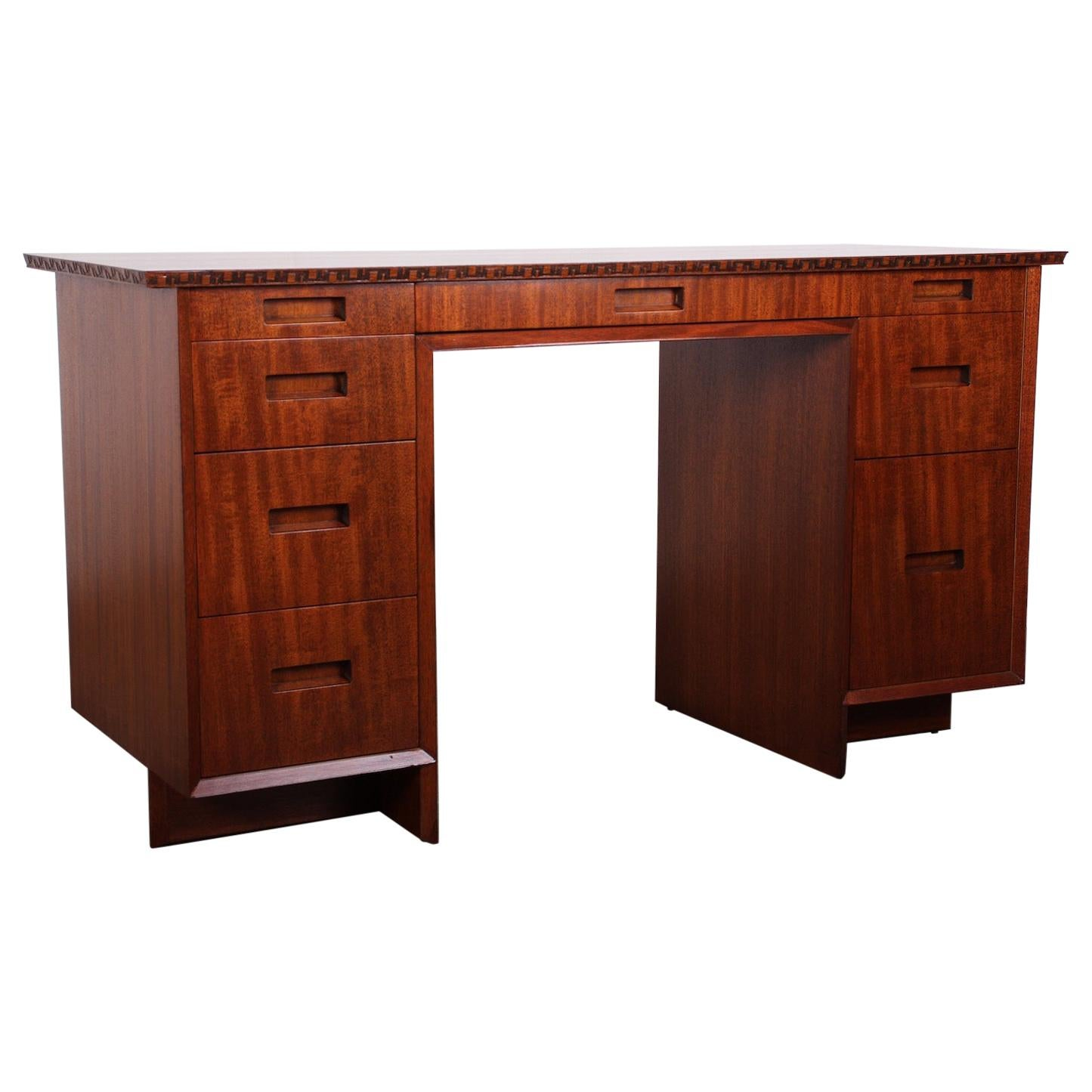 Frank Lloyd Wright for Henredon Desk