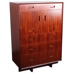 Frank Lloyd Wright for Henredon Tall Cabinet