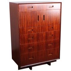 Frank Lloyd Wright for Henredon Tall Cabinet