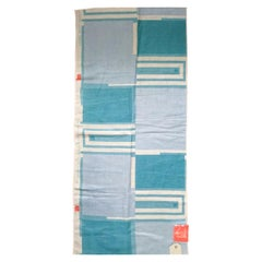 Frank Lloyd Wright for Schumacher Taliesin Textile, Tapestry Swatch, Blue, 1955