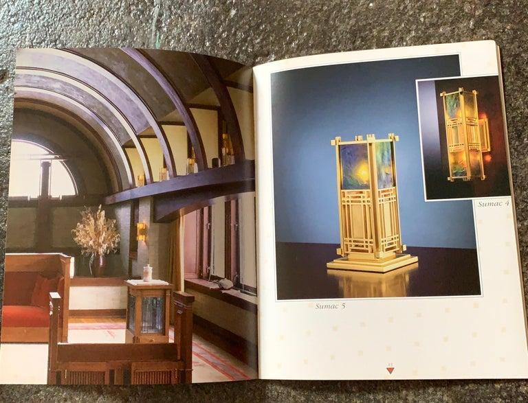 Japanese Frank Lloyd Wright for Yamagiwa Japan Original Collection Catalog 1994 For Sale