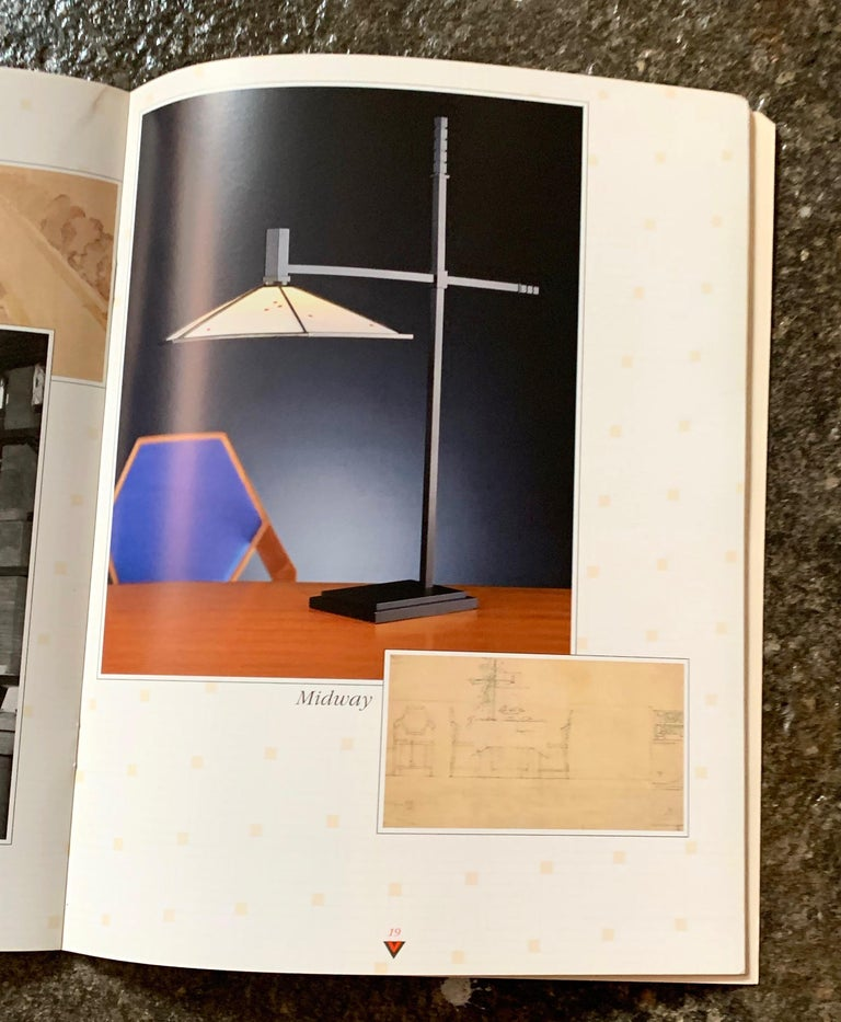 Frank Lloyd Wright for Yamagiwa Japan Original Collection Catalog 1994 In Excellent Condition For Sale In Brooklyn, NY