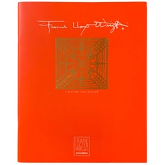 Frank Lloyd Wright for Yamagiwa Japan Original Collection Catalog 1994