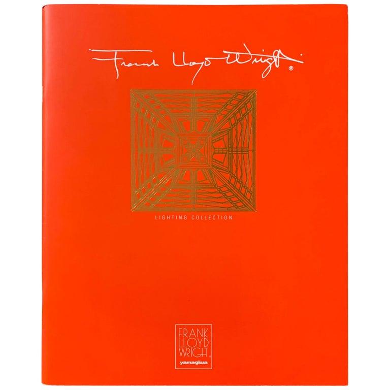 Frank Lloyd Wright for Yamagiwa Japan Original Collection Catalog 1994 For Sale