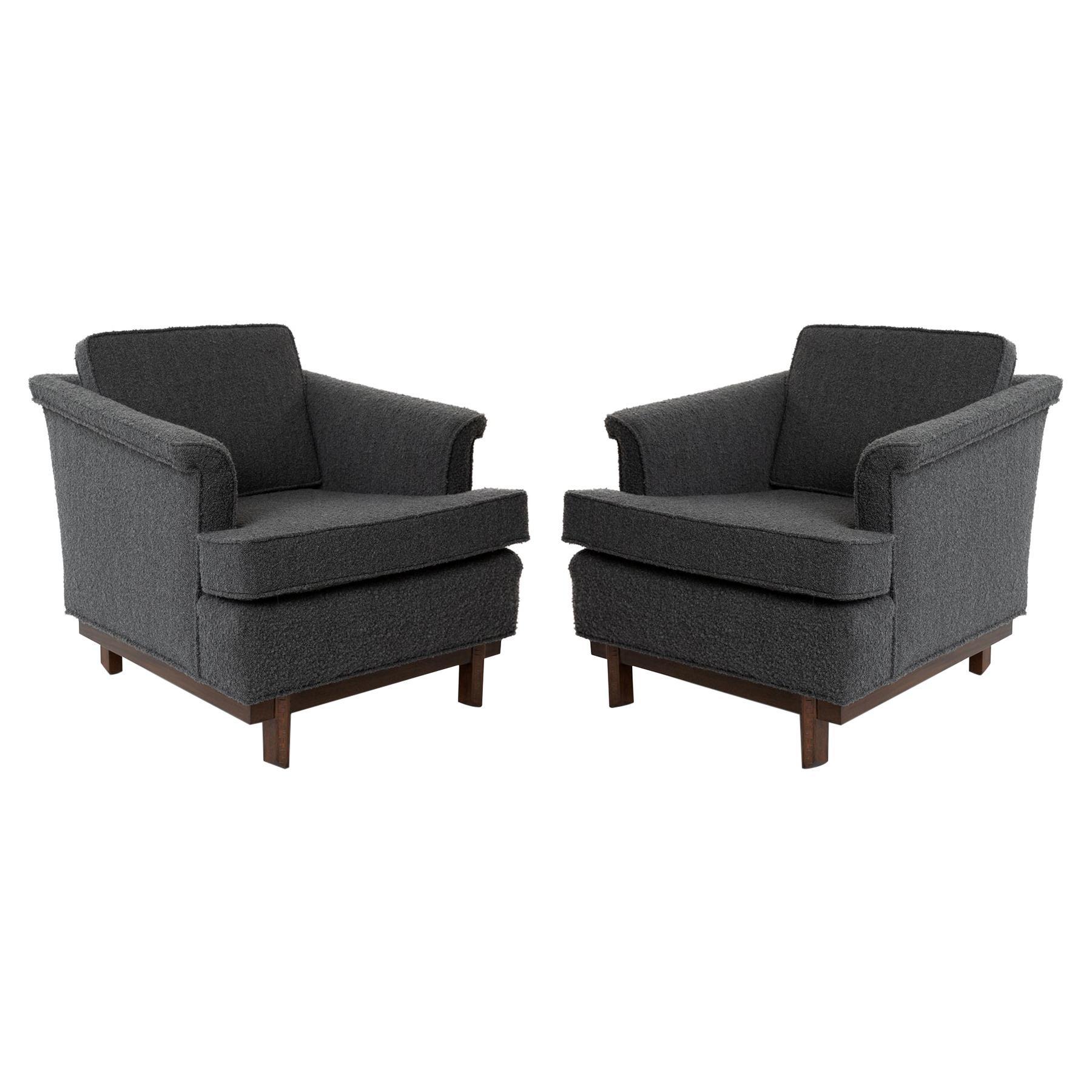 Frank Lloyd Wright Lounge Chairs