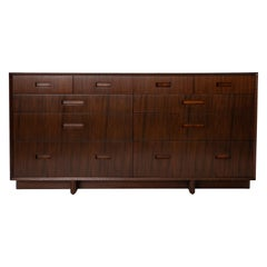 Frank Lloyd Wright Mahogany Chest for Henredon