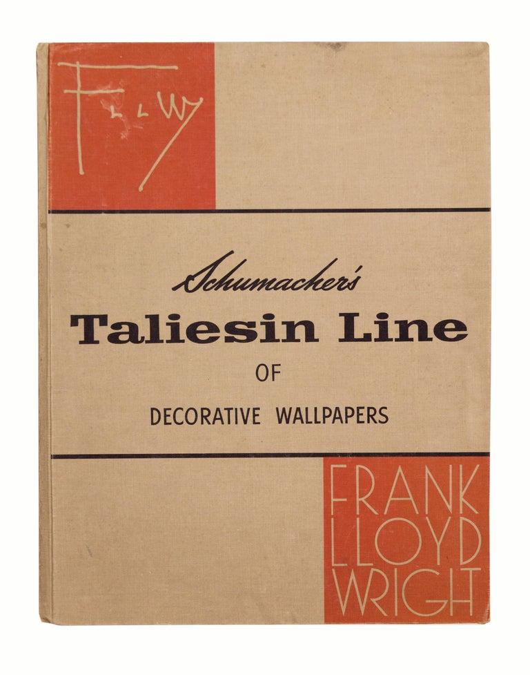 <i>Schumacher's Taliesin Line of Decorative Fabrics and Wallpapers</i>