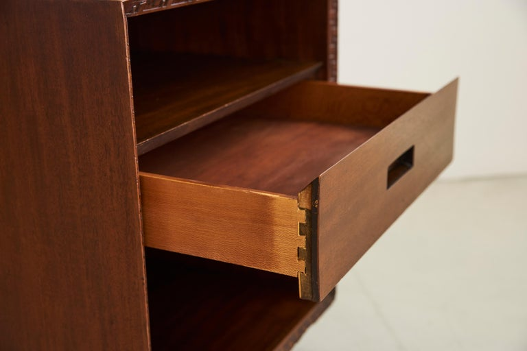 Frank Lloyd Wright for Henredon Nightstands 10