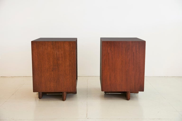 Frank Lloyd Wright for Henredon Nightstands 9